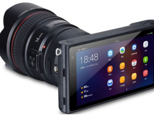 Yongnuo YN450: an Android camera with MFT sensor and EF mount