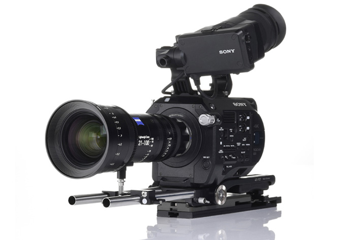 Lightweight Zeiss lens for film productions