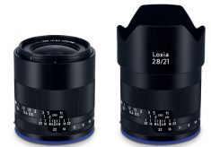 New Zeiss Loxia super wide-angle for video