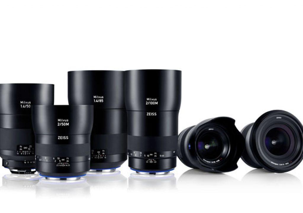Zeiss : 6 new SLR lenses for high-resolution cameras 1