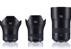 Three new Zeiss Milvus lenses for IBC 2016
