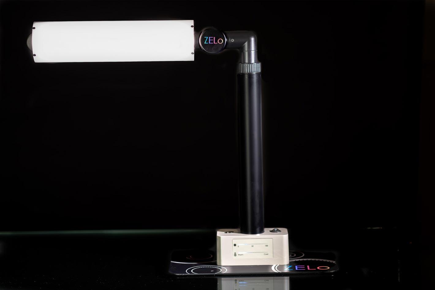 ZELo desktop studio light for any workspace