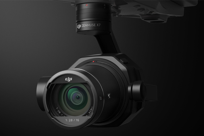 DJI Zenmuse X7: optimized for aerial cinematography