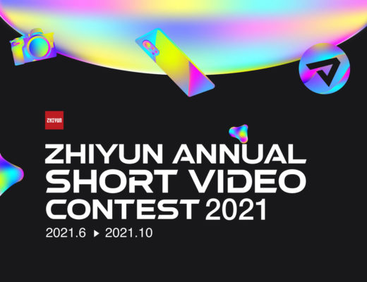 ZHIYUN's short video contest offers $77,000 in prizes