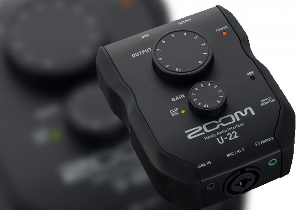 Zoom U-22, an essential audio interface