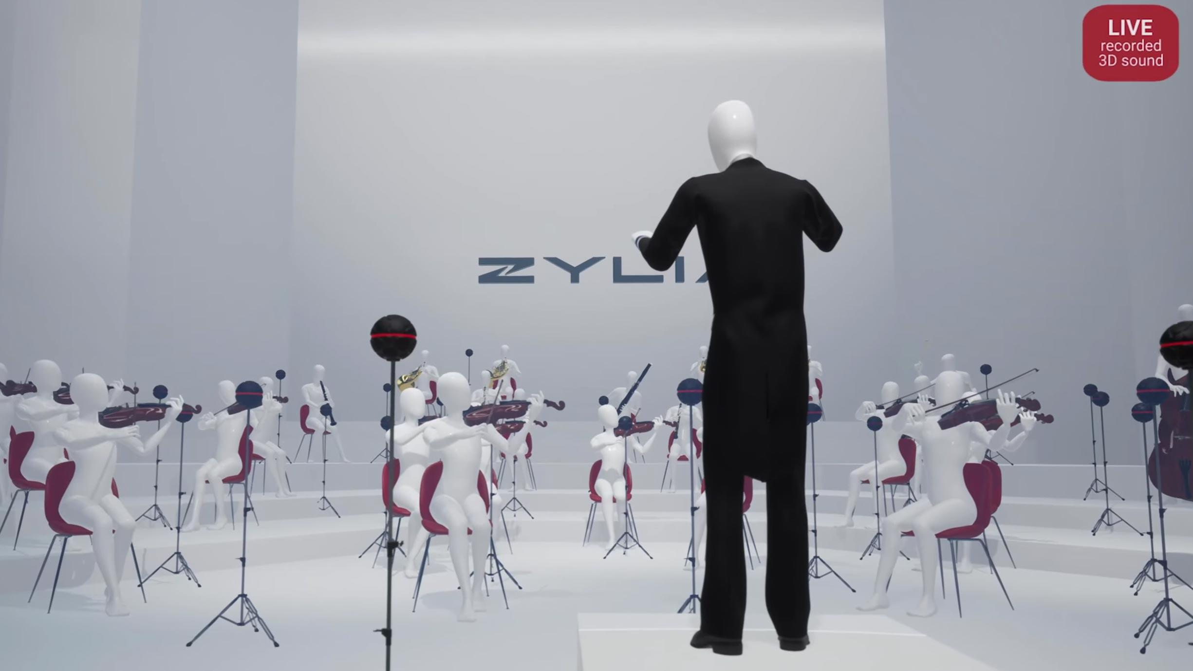 Zylia navigable audio system: a 3D sound experience