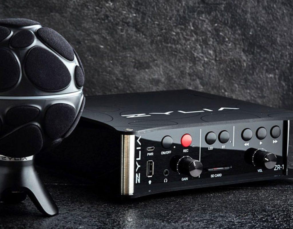 ZYLIA ZR-1: a portable recorder for 360-degree sound recording