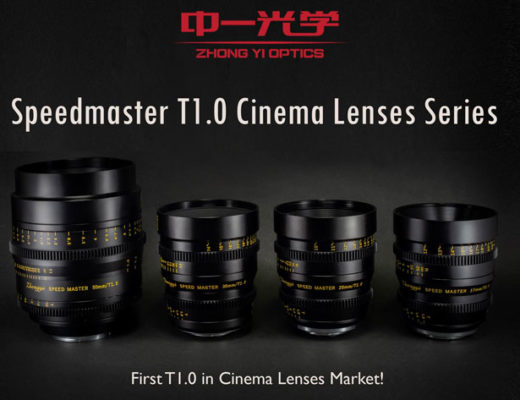 ZY Optics: new T1.0 cinema lenses for MFT, Super 35 and PL cameras