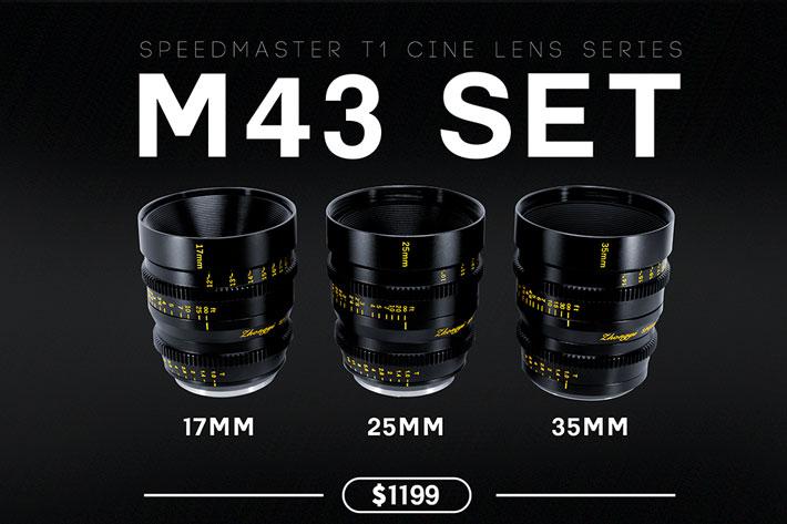 ZY Optics: new T1.0 cinema lenses for MFT, Super 35 and PL cameras